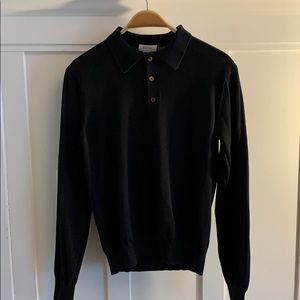 Barney's NY silk cotton long sleeves Shirt